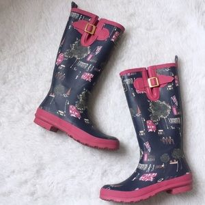 Joules Beautiful Rubber Boots